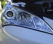 Pack front Chrome turn signal for Hyundai Genesis