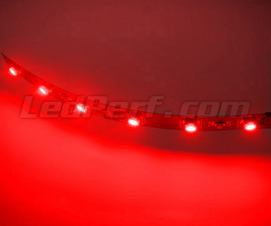 Standard flexible strip with 6 leds TL SMD red