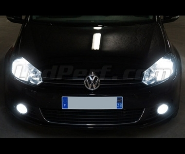 Xenon Effect bulbs pack for Volkswagen Golf 6 headlights