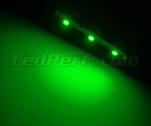 Standard flexible strip with 3 SMD LED TL Green