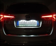 Pack LED License plate (Xenon White) for Toyota Auris MK2