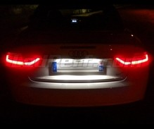 Pack LED License plate (6000K pure white) for Audi A5 8T- 2010 +