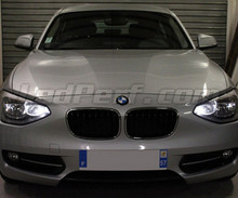 Pack sidelights led (xenon white) for BMW 1 Series F20 F21
