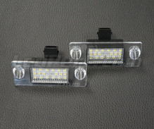 Pack of 2 LEDs modules license plate VW Audi Seat Skoda (type 5)