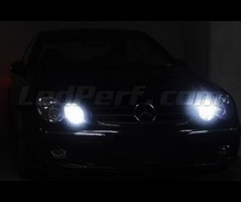 Pack sidelights led (xenon white) for Mercedes CLK W209