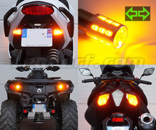 Pack rear Led turn signal for Harley-Davidson Super Glide 1584