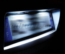 LED Licence plate pack (xenon white) for Peugeot 1007