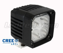 Additional LED Light Square 40W CREE for 4WD - ATV - SSV