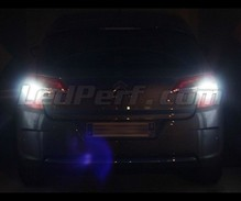 Pack LEDs (white 6000K) backup lights for Citroen C4 II