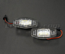 Pack of 2 LEDs modules license plate HONDA (type 2)