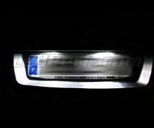 LED Licence plate pack (xenon white) for Renault Espace 4