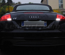 Pack LEDs (white 6000K) backup lights for Audi TT 8J