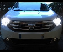 Pack Xenon Effects headlight bulbs for Dacia Lodgy