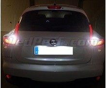 Pack LEDs (white 6000K) backup lights for Nissan Juke