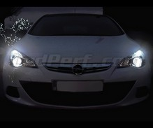 Pack Xenon Effects headlight bulbs for Opel Astra J