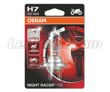 H7 Osram Night Racer 110 bulb for Moto - 64210NR1-01B