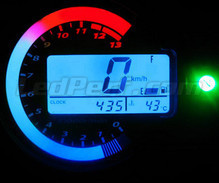 Led type 3 meter kit for Kawasaki zx6r Mod. 2003-2004