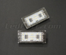 Pack of 2 LEDs modules license plate TOYOTA and SUBARU (type 5)
