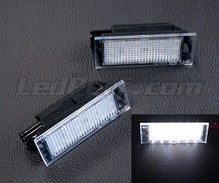 Pack of 2 LEDs modules license plate for Renault Clio 3