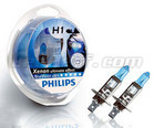 Pack of 2 bulbs H1 Philips BlueVision Ultra