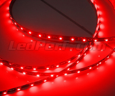 Standard 1 metre flexible strip of (60 leds SMD) red