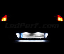 Pack LED License plate (Xenon White) for Peugeot 407