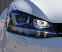 Pack LED daytime running lights (DRL) xenon white for Volkswagen Golf 7 (with bi-xenon PXA)