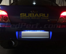Pack LED License plate (Xenon White) for Subaru Impreza GG / GD