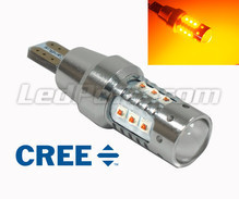 T15 bulb WY16W 16 Leds CREE - Ultra Powerful - Orange
