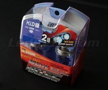 Pack of 2 bulbs H4 MTEC Super white - pure white