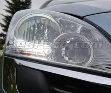 Pack LED daytime running lights (DRL) xenon white for Peugeot 5008 (without original xenon)