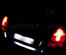 LEDs Pack (white 6000K) license plate for Fiat Stilo