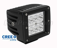 Additional LED Light Square 24W CREE for 4WD - ATV - SSV