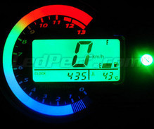 Led Meter Kit for Kawasaki zx6r type 1 Mod. 2003-2004