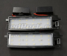 Pack of 2 LEDs modules license plate TOYOTA (type 2)