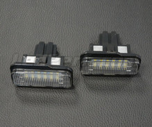 Pack of 2 LEDs modules license plate MERCEDES (type 2)