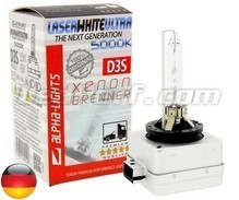 Bulb Alpha-Lights Xenon D3S 5000K LASER WHITE ULTRA - Made in Germany