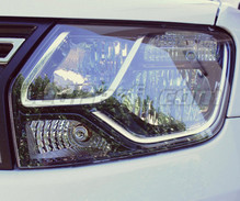 Pack front Chrome turn signal for Dacia Duster