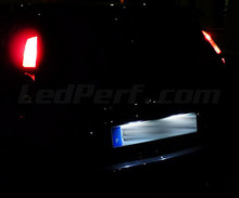 Pack LED License plate (Xenon White) for Ford Fiesta MK6