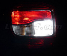Pack LEDs (white 6000K) backup lights for Dacia Logan 2