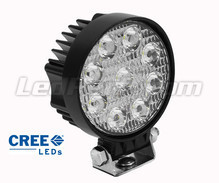 Additional LED Light Round 27W CREE for 4WD - ATV - SSV
