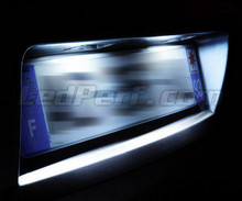 Pack LED License plate (Xenon White) for Nissan Qashqai II