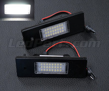 Pack of 2 LEDs modules license plate for BMW Serie 6 (E63 E64)