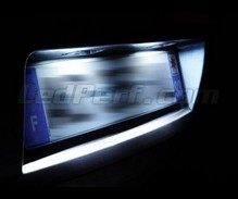 Pack LED License plate (Xenon White) for Opel Vectra B