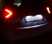 Pack LED License plate (Xenon White) for Renault Zoe