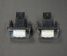 Pack of 2 LEDs modules license plate PEUGEOT / CITROEN (type 1)