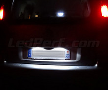 Pack LED License plate (Xenon White) for Citroen C3 Picasso