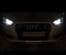 Pack sidelights led (xenon white) for Audi A3 8V