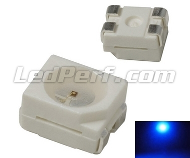 TL LED PLCC4 - Blue - 130mcd