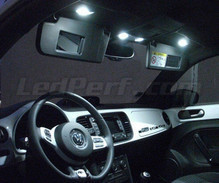 Pack interior Full LED (Pure white) for Volkswagen New Beetle (Beetle) 2012